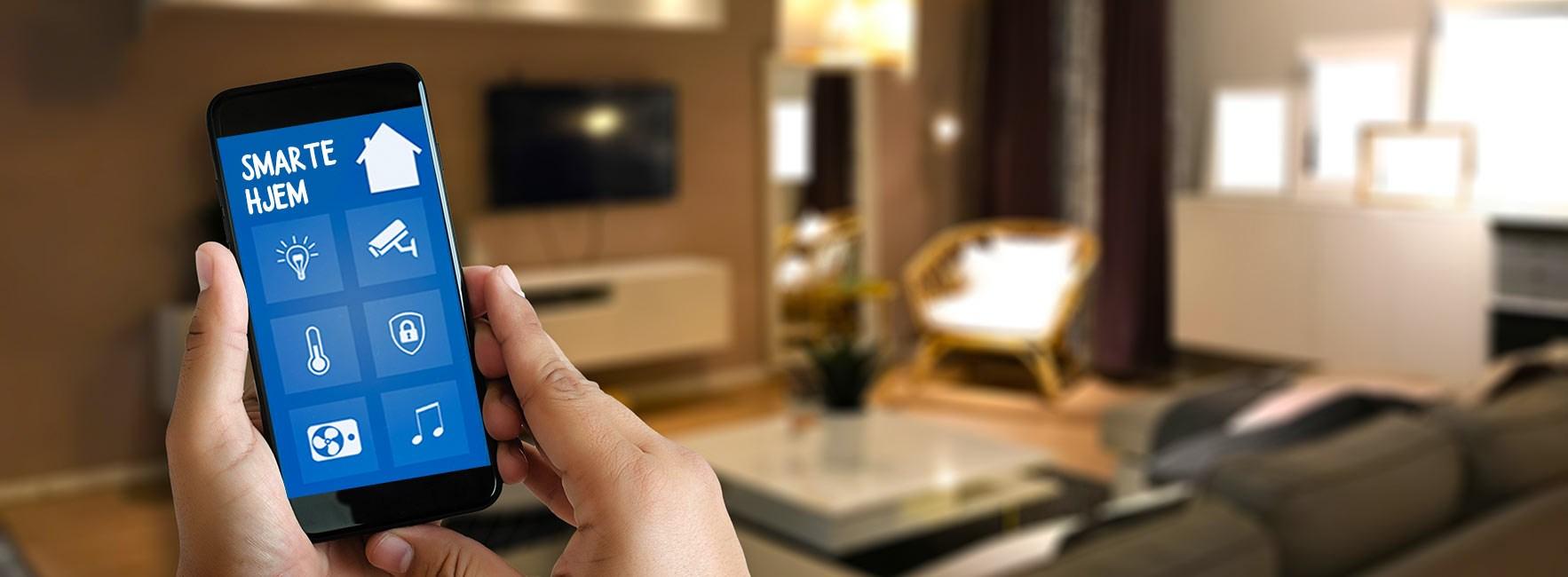 Lær deg mer om smarte hjem