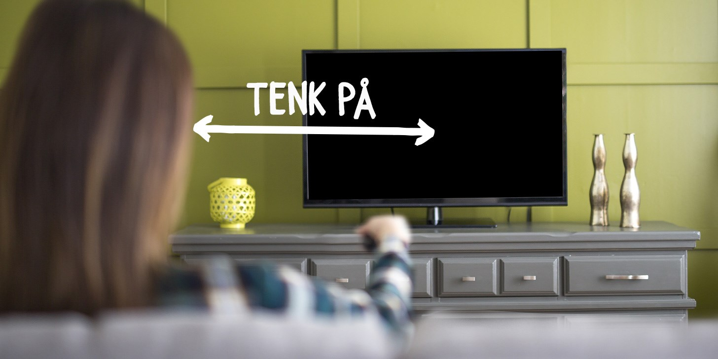 Fra mega Lær deg mer: Plassering av TV - NetOnNet - NetOnNet.no IA-31