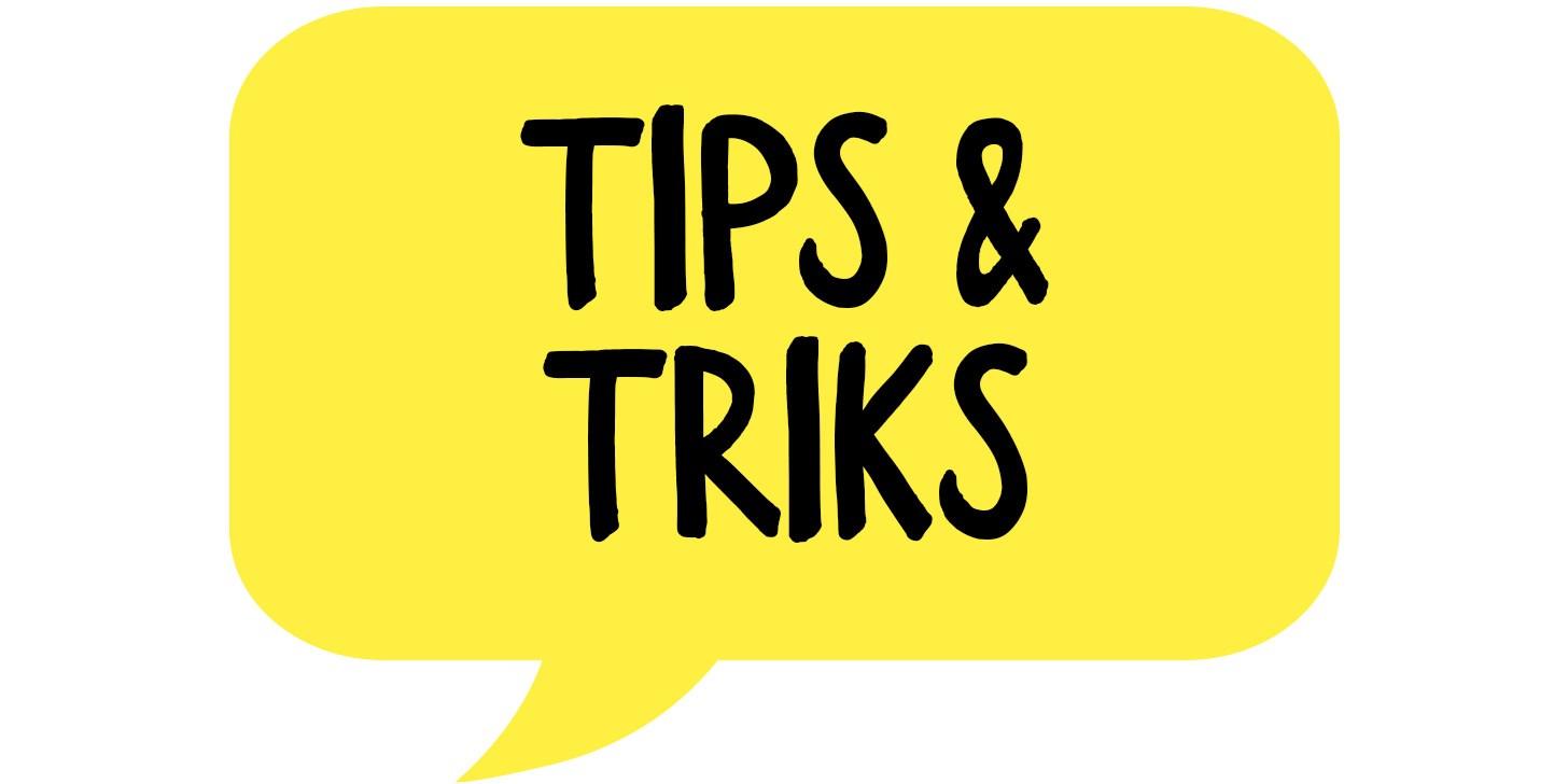 Tips og triks