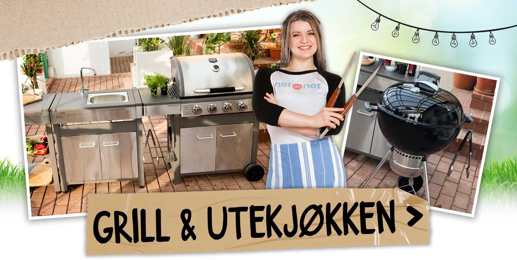Grill og utekjøkken som sikrer en herlig sommer