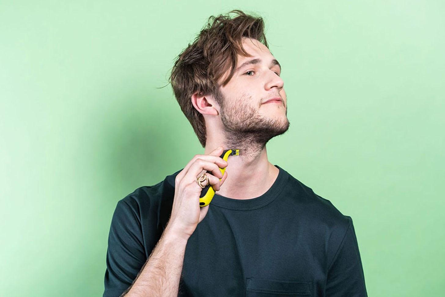 Form skjegget og fiks skarpe linjer med Philips OneBlade