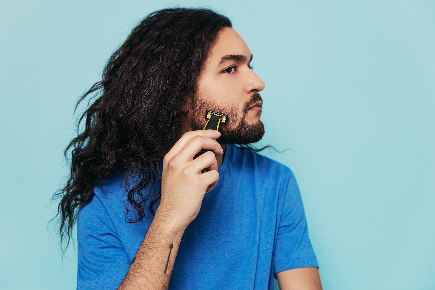 Trim skjegget i ulike lengde med Philips OneBlade
