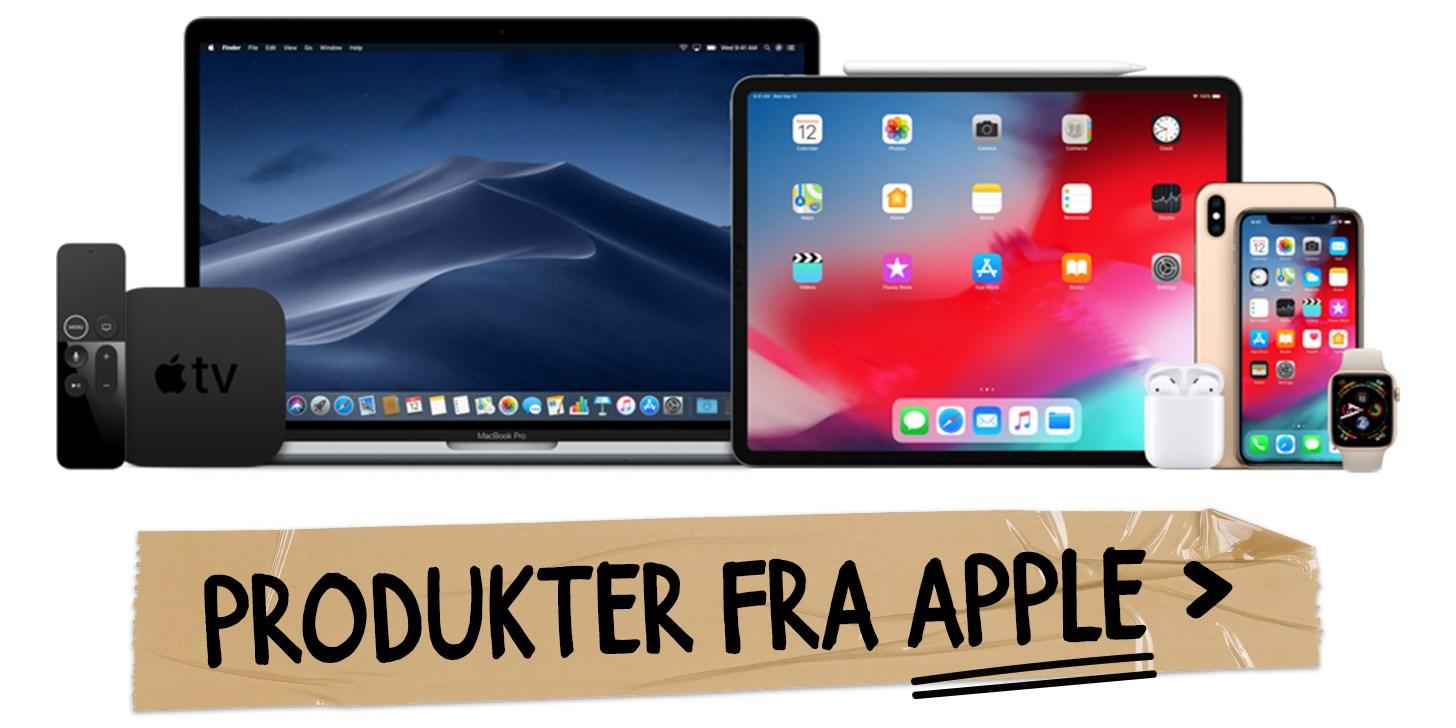 Produkter fra Apple