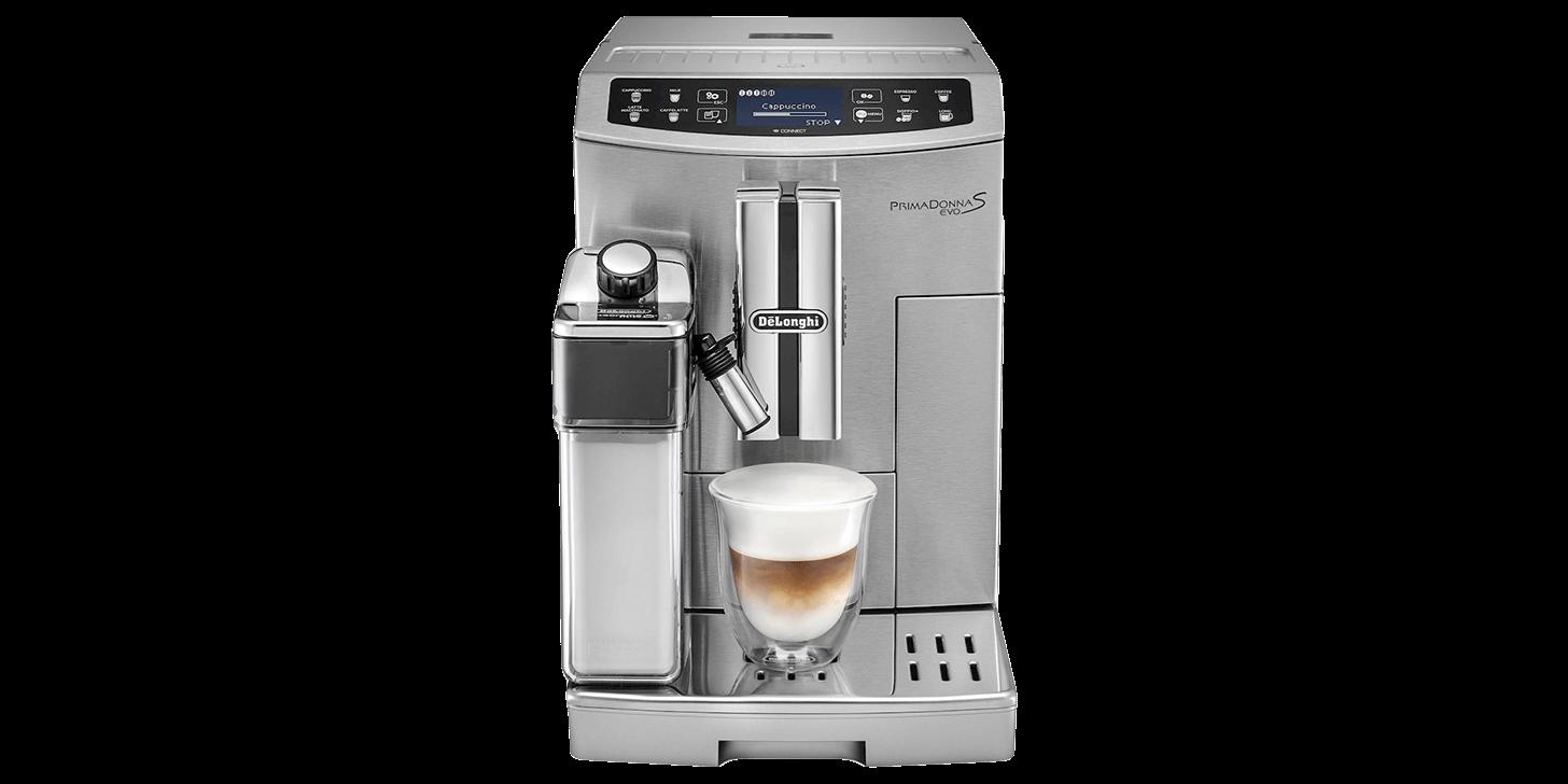Espressomaskinen Delonghi PrimaDonna S Evo ECAM 510.55 M