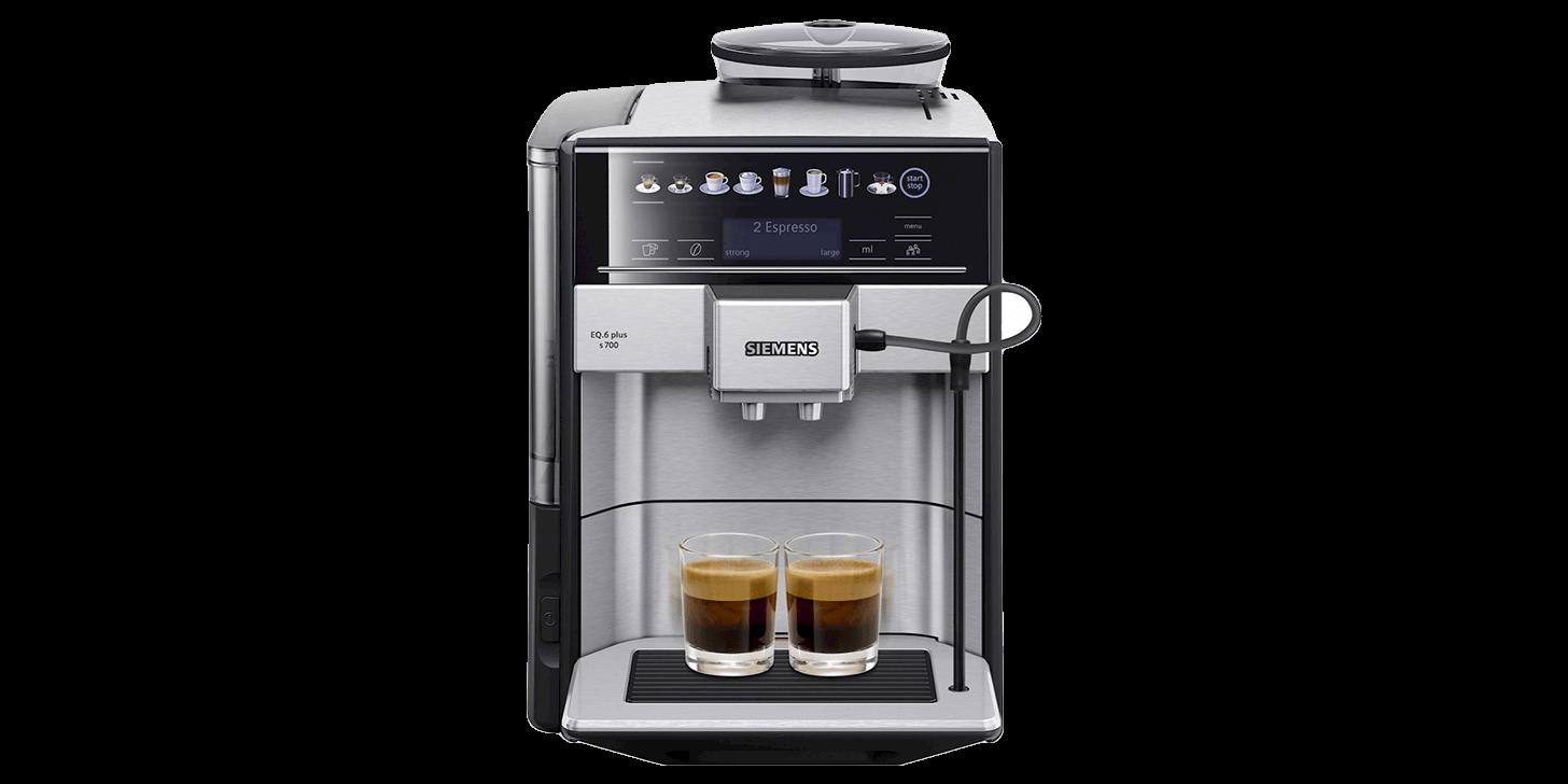 Espressomaskinen Siemens EQ.6 plus s700 TE657313RW