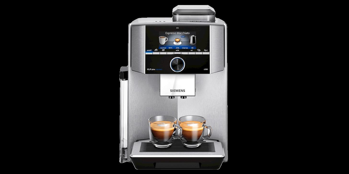 Espressomaskinen Siemens EQ.9 plus connect s500 TI9553X1RW