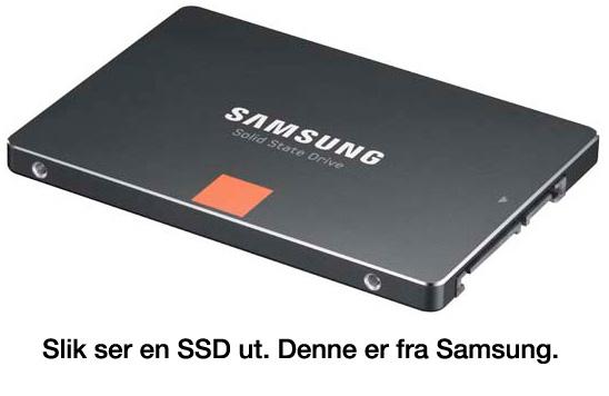 SSD fra Samsung